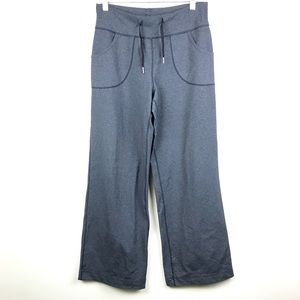 LULULEMON Women's Grey Wide Leg Leggings Size M